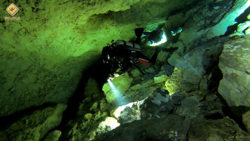 Diver24 z Explodive, Nurkowanie w Meksyku