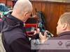 Sprawdzanie składu gazów - Wyprawa nurkowa ExploDive - Rusałka 2013