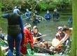 Sprztanie rzeki Drawy - prace podowdne