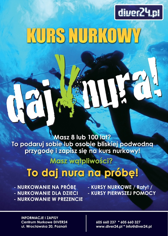 Daj Nura - Kurs nurkowy - Diver24