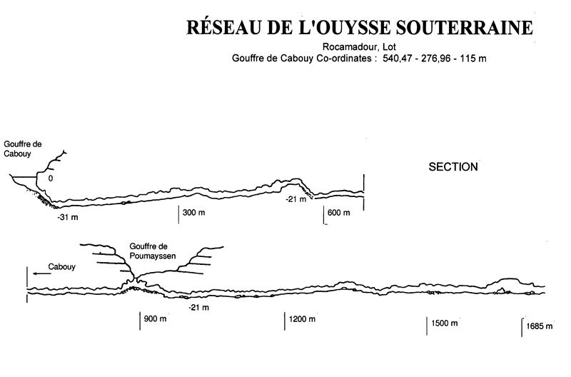 Reseau De L'Ouysse Souterraine - Diver24